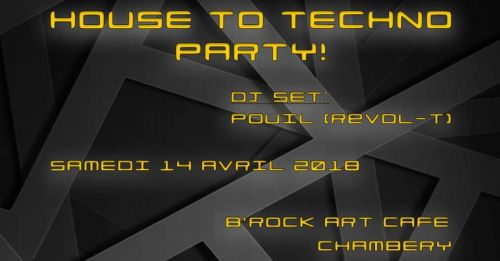 House To Techno Party !